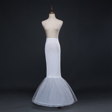Svatební kočička Bezrámová mořská panna Spandex Elastický pas Plné šaty