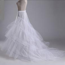 Svatební šňůra Tři ráfky Obvodová dvojitá příze Mořská panna Svatební šaty