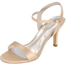 Svatební sandály Prom Vysoké podpatky jehlové módní boty