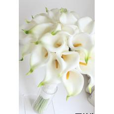Nevěsta drží simulaci květina družička calla květina květina holka ruku