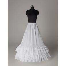 Svatební šperky Elegantní svatební šaty Elastický pas Polyester taffeta