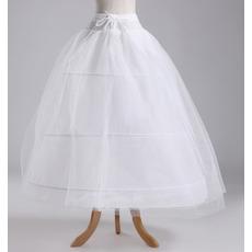 Svatební šňůra Šířka Plné šaty Elegantní Tři ráfky Polyester taffeta