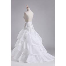 Svatební šňůra Tři ráfky Celé oblečení Průměr Elegantní polyesterová taftová