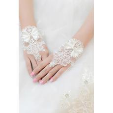 Svatební rukavice Krátké bez ramínek dekorace Čipka Fabric Mitten