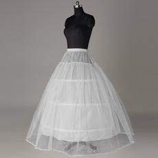 Svatební oděv Silný čistý svatební šaty Šňůrové ozdoby Standardní