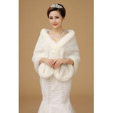Svatební šátek Cold Fur venkovní Romantický král