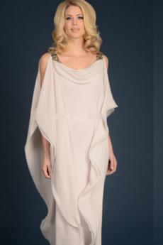 Stupňová Šifón Vysoká zahrnuty Formální Přírodní pas Matka šaty obleky d1792c20035