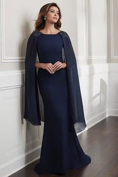 Plášť Dlouhá Zip nahoru Bez rukávů Vinobraní Oslava Matky šaty