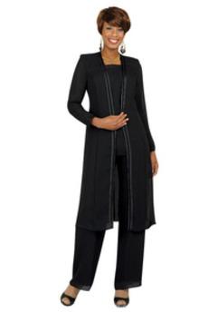 Náměstí Formální Dlouhé rukávy Dvoudílné Šifón Matka šaty obleky