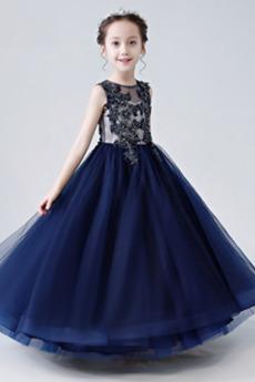 Zip Přirozeného pasu drahokamy živůtek Lištování Květ dívka šaty