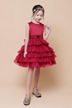 S diakritikou luk Přirozeného pasu Zip Svatba Květinové šaty