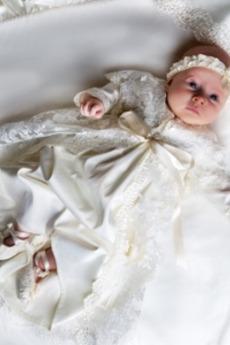 Formální Princezna Drahokam Vysoká zahrnuty Obřad Křest šaty