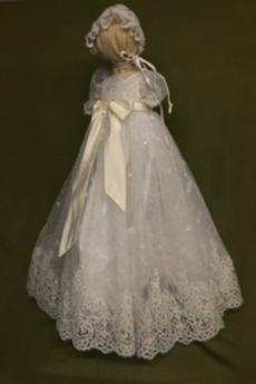 Čepice Drobounký Krátké rukávy Dlouhý lucerna Princezna Křest šaty