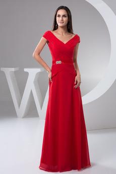A-Čára Zip nahoru Střední Formální Víčko Léto Společenské šaty