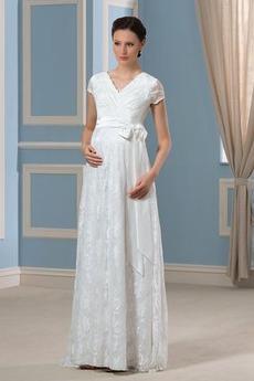 S diakritikou luk Plus Velikost Zametání vlečka Svatební šaty