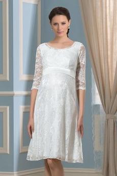 Říše Zahrada Říše pasu Šerpa Kolena délka Lopatka Svatební šaty
