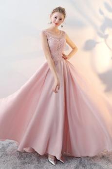 Zašněrovat boty Přírodní pas Drahokam Jaro Elegantní Promové šaty