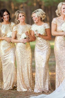 Hvězdné Přesýpací hodiny Podzim T-shirt rukáv Těsné Flitry šaty