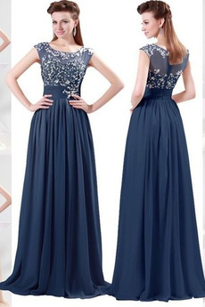 8c88465364b Dlouhý Formální Přirozeného pasu Střední Léto Víčko Večerní šaty