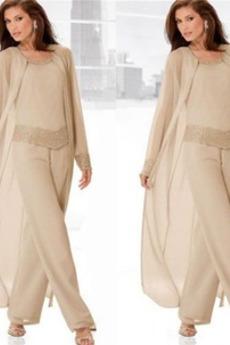 Vysoká zahrnuty Přírodní pas Dvoudílné Kotníky Matka šaty obleky