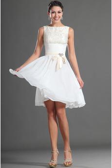 Jednoduchý Sametová Bateau Brož houpačka Přirozeného pasu Promové šaty