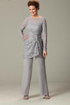 Plus Velikost Kotníky T-shirt rukáv Dlouhý rukáv Matka šaty obleky