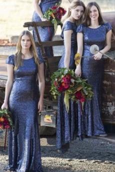 Zametání vlečka Svatba Přikrýt Elegantní Lopatka Družička Šaty