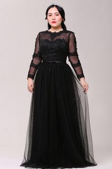 Krajka Zamést vlak Formální uprostřed zadního dílu Promové šaty
