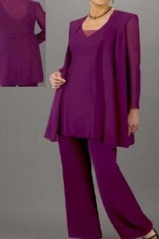 Vysoká zahrnuty Cestovat Oblek Šik Dlouhý rukáv Matka šaty obleky