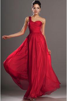 Elegantní nabubřelý Přirozeného pasu Střední záda Společenské šaty