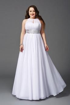 Elegantní Bez rukávů Šperk Kotníky Jaro A-Čára Společenské šaty