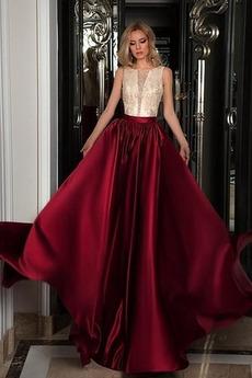 Rouška Představení Zip nahoru drahokamy živůtek Promové šaty