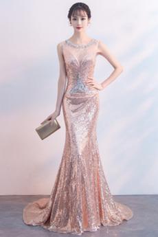 Flitry Střední Míč Sexy Flitry Šperk Přírodní pas Promové šaty