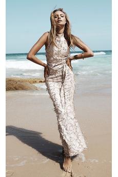 Vysoká zahrnuty Flitry Kotníky Přirozeného pasu Podzim Flitry šaty
