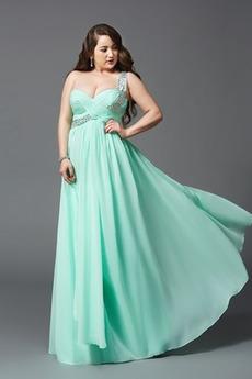 Elegantní Jablko Lištování Zip Délka podlahy drahokamy živůtek Večerní šaty