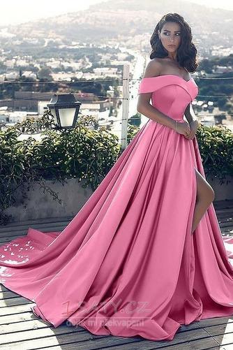 Přikrýt Bez rukávů Elegantní Podzim Zip Míč A-Čára Večerní šaty - Strana 4