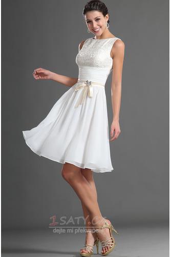 Jednoduchý Sametová Bateau Brož houpačka Přirozeného pasu Promové šaty - Strana 3