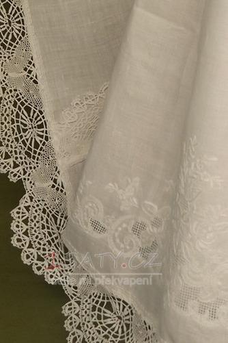 Tlačítka Krajka Polovina rukáv Dlouhý Formální Šperk Křest šaty - Strana 3