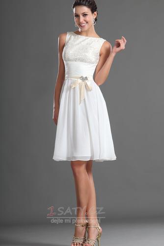 Jednoduchý Sametová Bateau Brož houpačka Přirozeného pasu Promové šaty - Strana 5