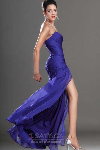 Okouzlující Délka podlahy Šifón Mořská panna Bez rukávů Promové šaty - Strana 6