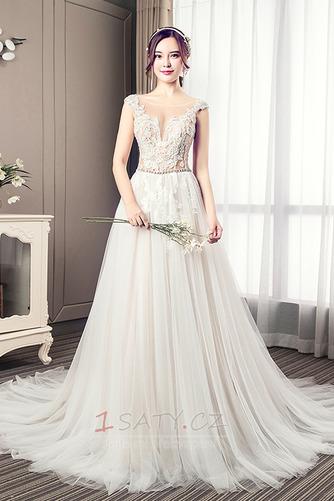 Nášivky Korálkový pás Elegantní Kostel Přírodní pas Svatební šaty - Strana 1