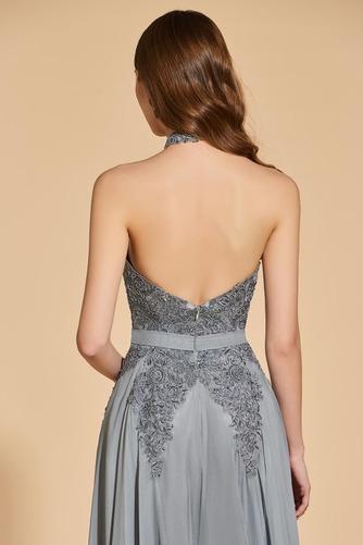 Přikrýt Boční štěrbinou Míč A-Čára Délka patra Vysoká krk Promové šaty - Strana 6