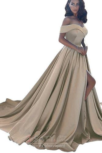 Přikrýt Bez rukávů Elegantní Podzim Zip Míč A-Čára Večerní šaty - Strana 8