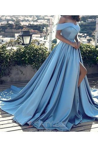 Přikrýt Bez rukávů Elegantní Podzim Zip Míč A-Čára Večerní šaty - Strana 9