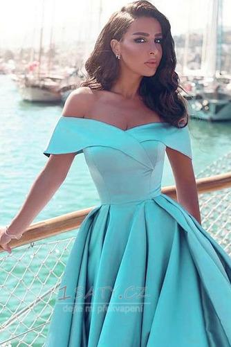 Přikrýt Bez rukávů Elegantní Podzim Zip Míč A-Čára Večerní šaty - Strana 2