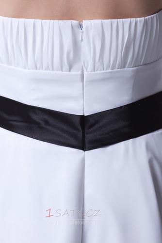 Jednoduchý A-Čára Léto Luk Střední Bez ramínek Družička Šaty - Strana 6