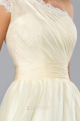 Krátký Přírodní pas Jedno rameno Neformální Střední Koktejlové šaty - Strana 4