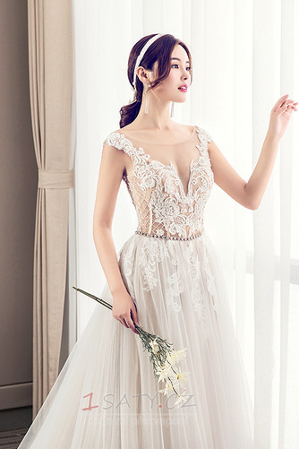 Nášivky Korálkový pás Elegantní Kostel Přírodní pas Svatební šaty - Strana 5