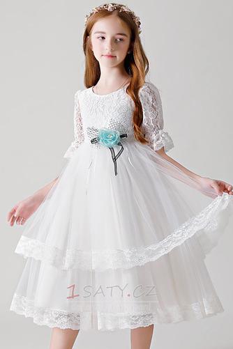 Šperk Zip nahoru Podzim Květina Délka kotník Květinové dívky šaty - Strana 1