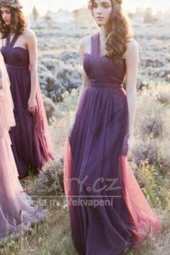 Zimní Skládaný živůtek S hlubokým výstřihem Svatba Družička Šaty - Strana 5